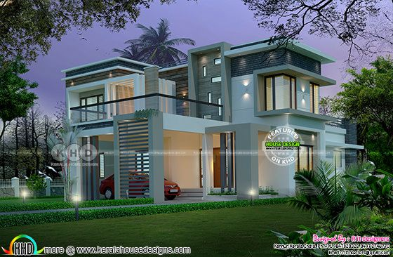 2755 sq-ft, 4 bedroom modern contemporary home
