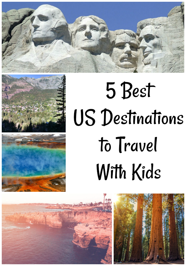 5 Best US Destinations to Travel With Kids