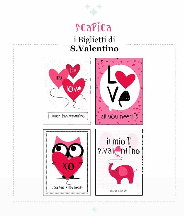 Arriva La Cicogna Biglietti Di San Valentino Da Stampare