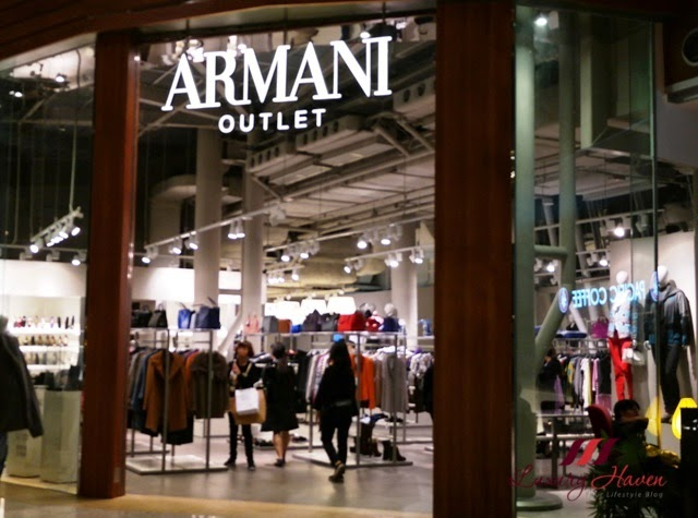hong kong citygate outlets shopping armani sale
