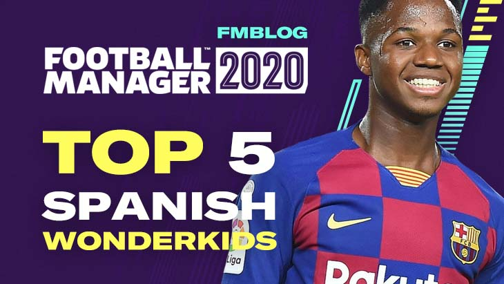 FM20 Top 5 Wonderkids From Spain