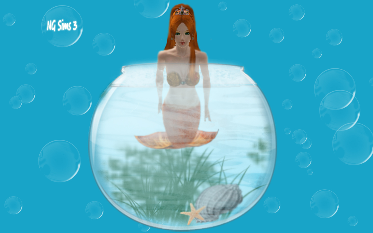 how to become a mermaid on sims