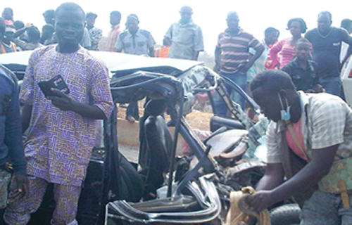 car accident owode ogun state