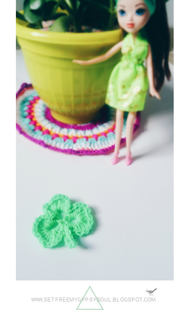 how to make a crochet shamrock clover free pattern