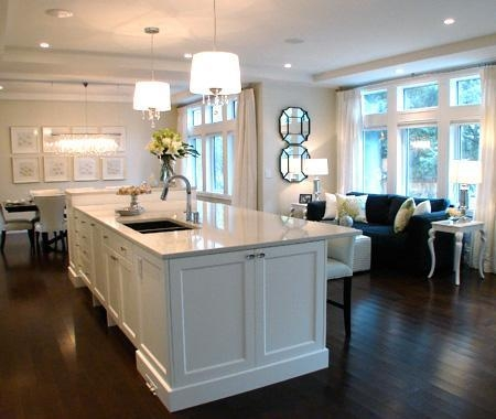 Mixing White Kitchen Cabinets With Off White Furniture