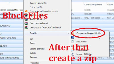 Creating a Zip file without an application is very easy, first block the files you want to insert into a Zip file. Then right-click the blocked file, select 'send to'> click 'Compressed (Zipped) folder'. And a zip file will be created.