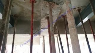 perkuatan struktur beton pada beton rusak