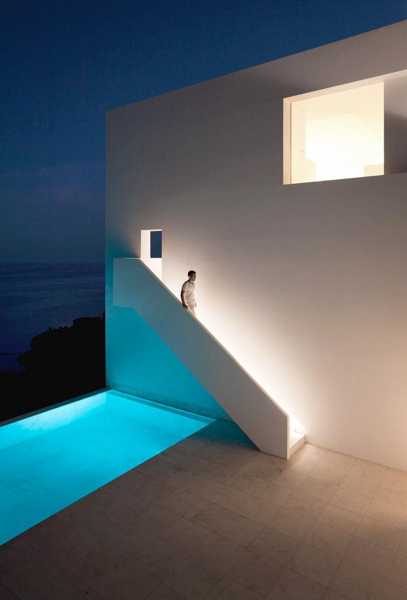 Cliff House On Mediterranean Sea Alicante Spain Most