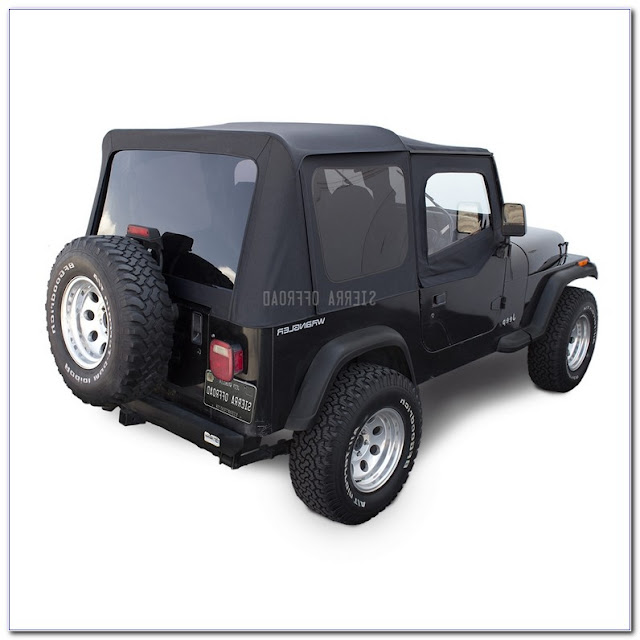 Jeep Wrangler Soft Top WINDOWS TINTED Pictures