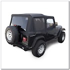 Jeep Wrangler Soft Top WINDOWS TINTED