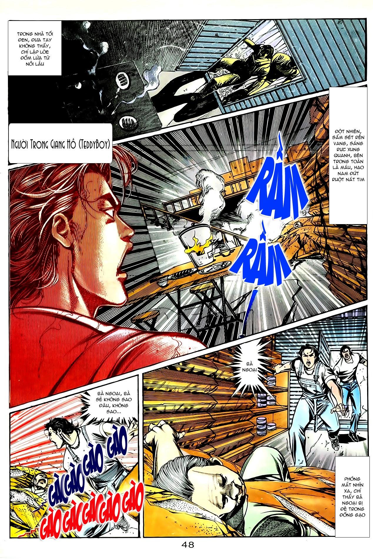 Người Trong Giang Hồ chapter 85: diệt môn trang 21