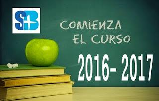 FECHAS DE INICIO CURSO 2016-2017