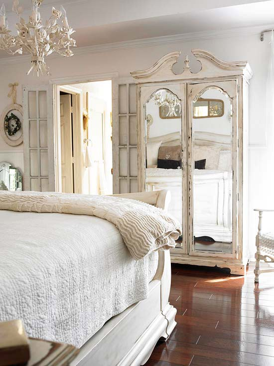 wonderful romantic shabby chic bedroom | Beautiful Bedrooms Part IV