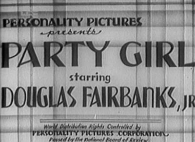 party girl 1930