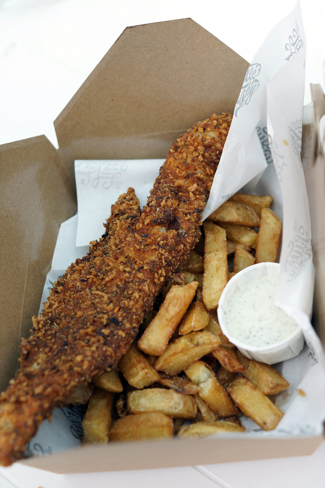 Hello Freckles The Little Fishy Tynemouth Food Review Fish and Chips