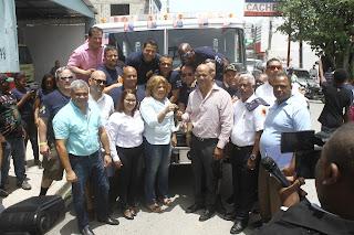 CAC coopera con Cuerpo de Bomberos de Barahona