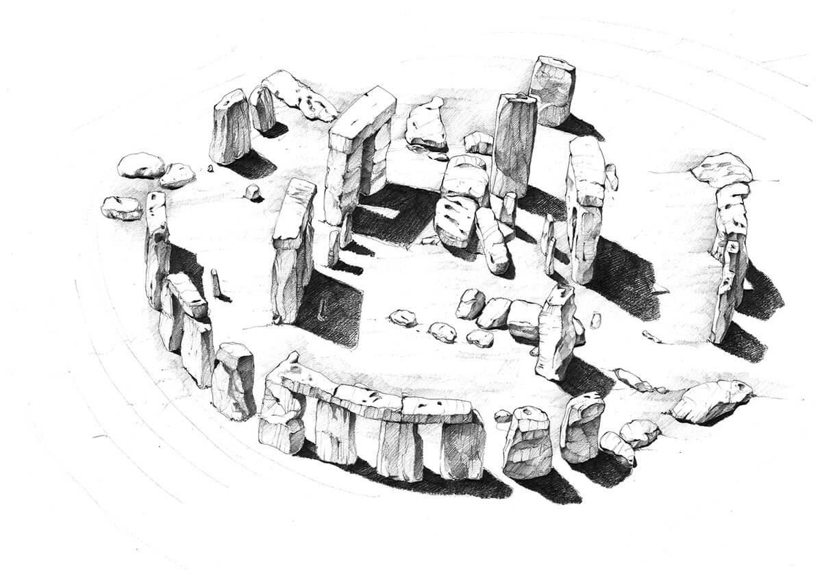 10-Stonehenge-UK-Adelina-Popescu-Architecture-Drawings-and-Interior-Design-www-designstack-co