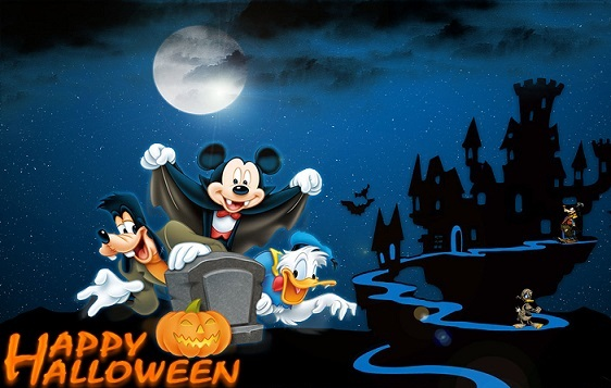 scary halloween greeting images