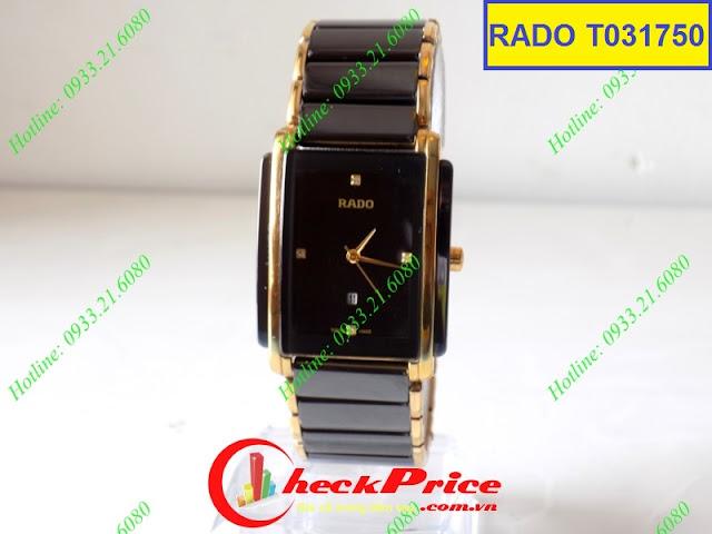 Đồng hồ nam mặt vuông Rado T031750
