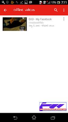 cara melihat video youtube secara offline