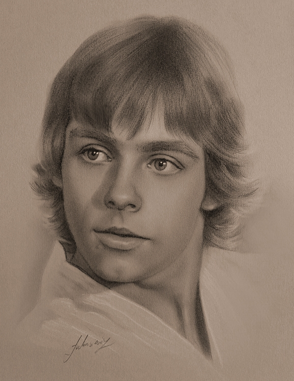 06-Mark-Hamill-as-Luke-Skywalker-Star-Wars-krzysztof20d-Portrait-Drawings-with-a-few-Celebrities-www-designstack-co
