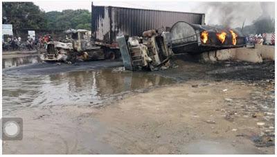 Tanker explosion in lagos