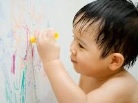 Cara Membersihkan Dinding Rumah Dari Coretan Pensil Dan Crayon