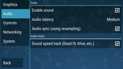 setting ppsspp gold android