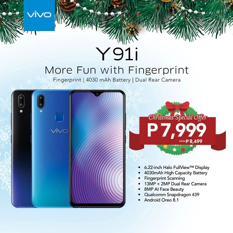 Vivo Y91i, Y85 Receive a Price Cut