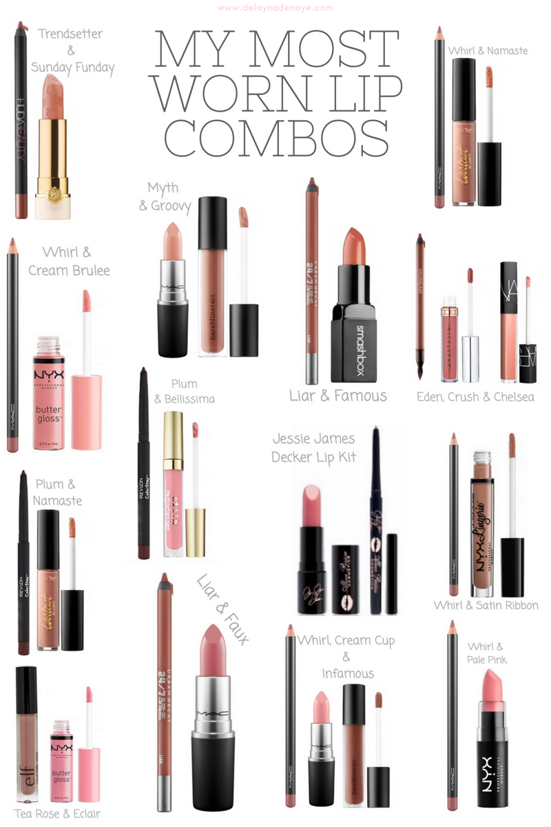 The Ultimate Lip Combos FAQ featured by popular Denver style blogger, Delayna Denaye