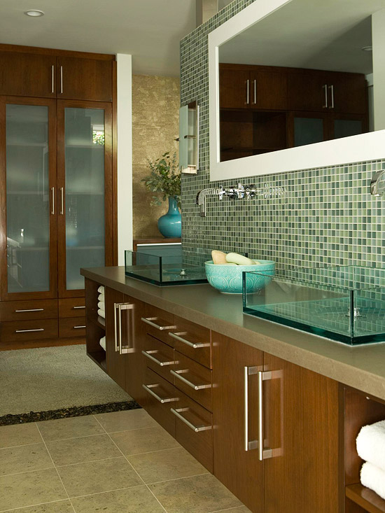 home interior design green bathroom design ideas