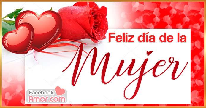 rosas feliz día de la mujer