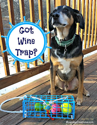 Got The Wine Trap?  Teutul does. #Gloucester #Wine #LapdogCreations ©LapdogCreations #sponsored