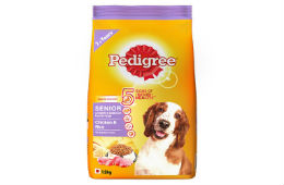 Pedigree Senior Dog Food Chicken & Rice 1.2 kg For Rs 115 at Amazon