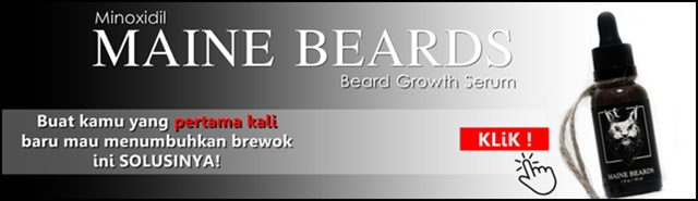 NEW! Serum Penumbuh Brewok MAINE BEARDS