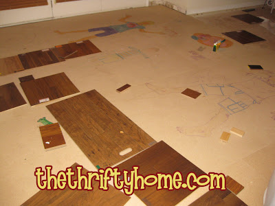 The Thrifty Home 100th Penny Pinching Party Wood Flooring