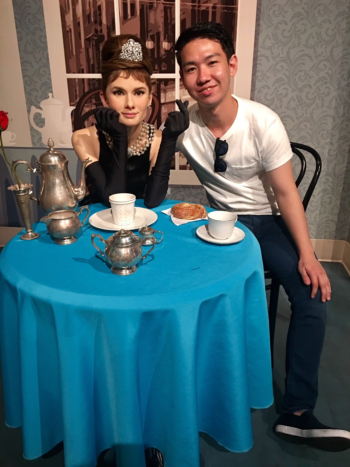 Madame Tussauds Hollywood Review Audrey Hepburn