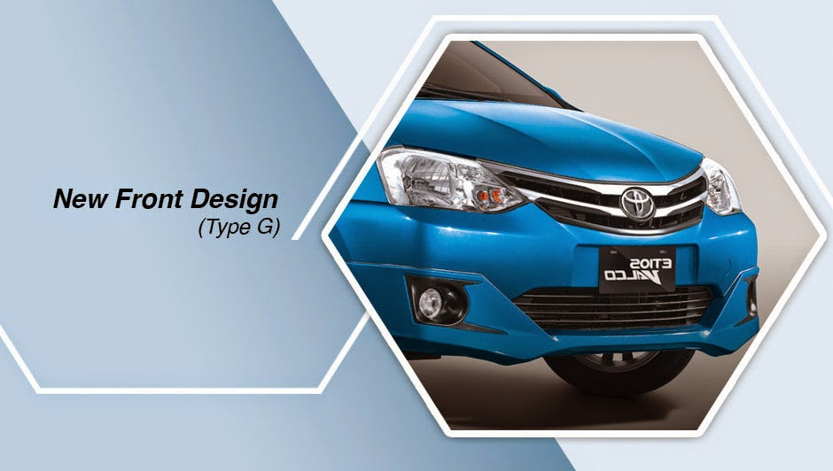 toyota etios new front design