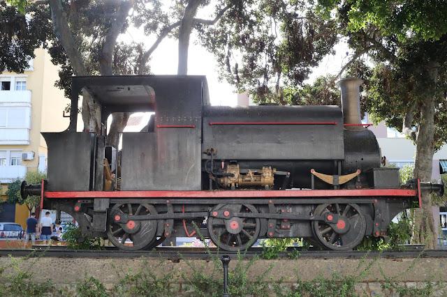 Locomotora de la azucarera española