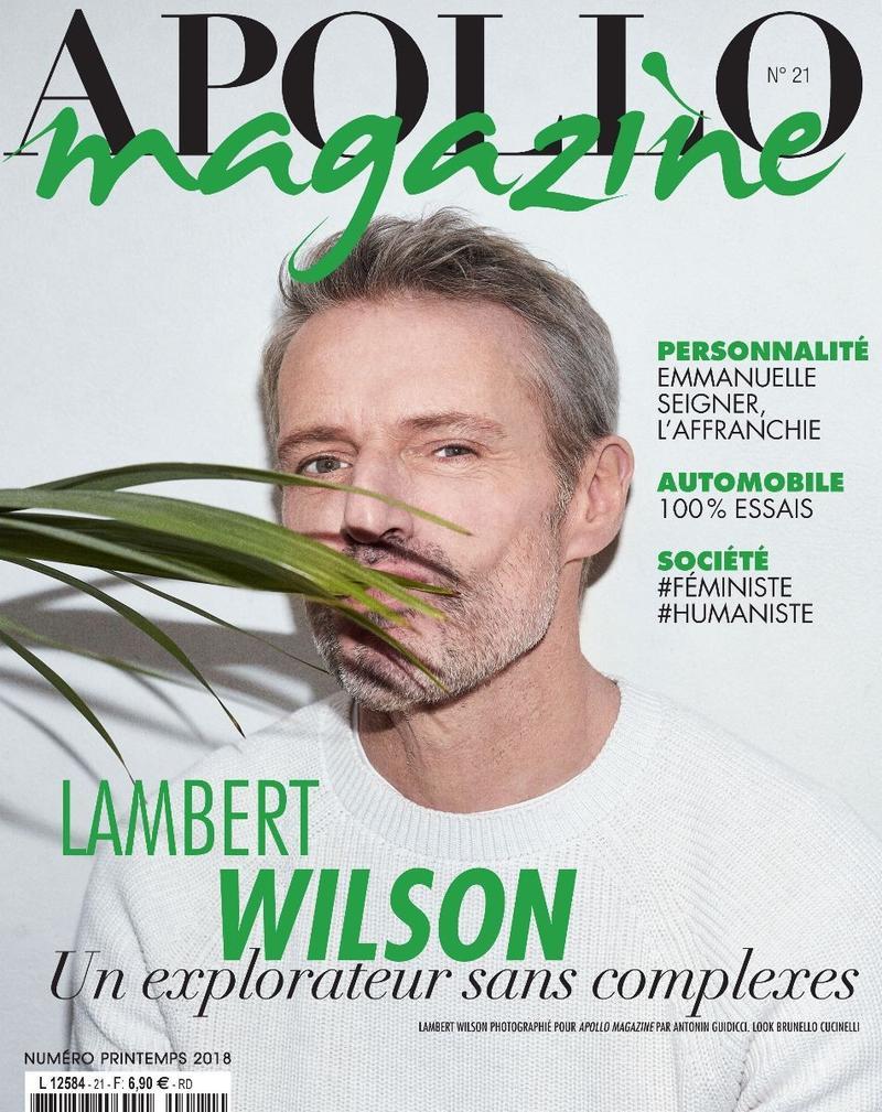Lambert Wilson para Apollo Magazine Spring 2018 por ...