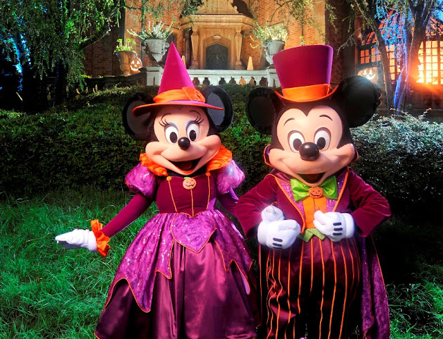Atrações da Mickey's Not So Scary Halloween Party