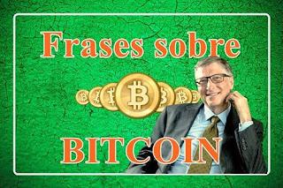 Frases sobre Bitcoin