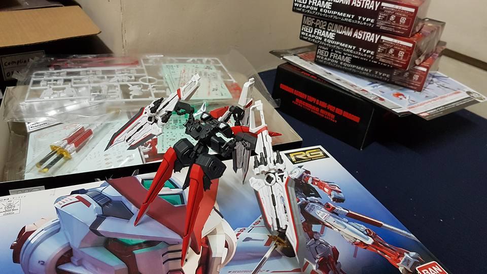 G Project Custom Rg 1 144 Wip Mbf P02 Gundam Astray Red