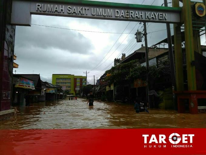 Curah Hujan Yang Sangat Tinggi, Delapan Desa di Kayen Terendam Banjir