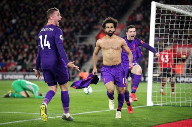 Salah: I'm an attacker .. I did not think of passing .. The goal is 50 distinctive