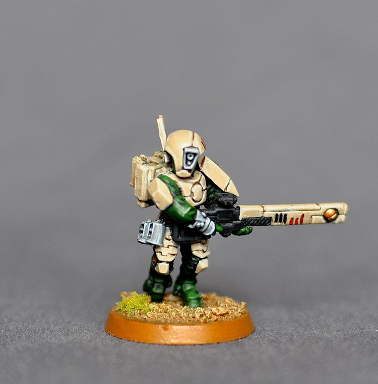 The Tau of War: Tau Color Schemes