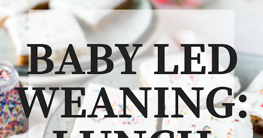Baby Led Weaning: Lunch Ideas // GUEST POST