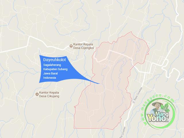 PETA : Desa Dayeuhkolot, Kecamatan Sagalaherang