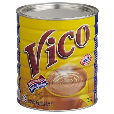 Produk Minuman Malt Coklat Vico
