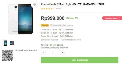 Rekomendasi HP 4G RAM 2 GB terbaik dibawah Rp. 1 juta